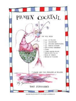 Prawn Cocktail - signed print